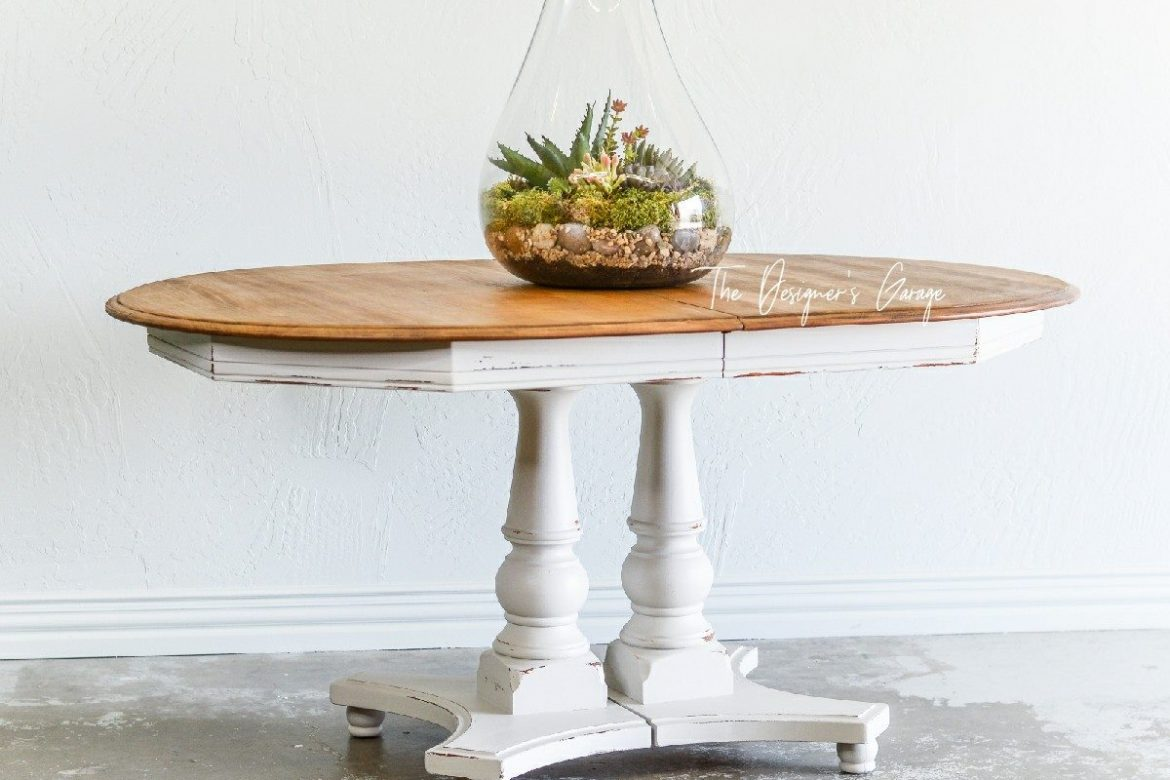 Oval Farmhouse Table
