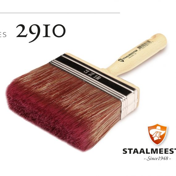 Staalmeester Flat Wall Brush