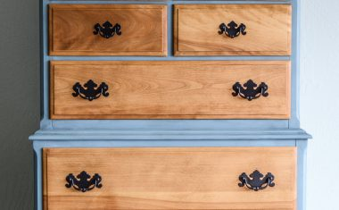 Champness with Natural Chest of Drawers